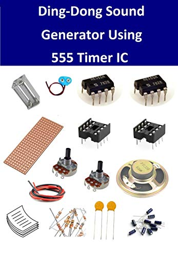 INVENTIONS Pack of 10 Kits x Ding-Dong Sound Generator Using 555 Timer IC