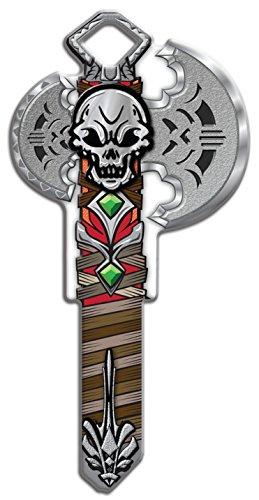 Lucky Line Key Shapes, Medieval BATTLE AXE - House Key Blank, KW1/11, 1 key (B143K)