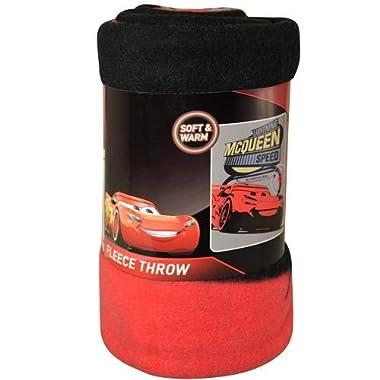 Disney Cars 3 Blanket Fleece Throw Lightning Mcqueen 46 x60