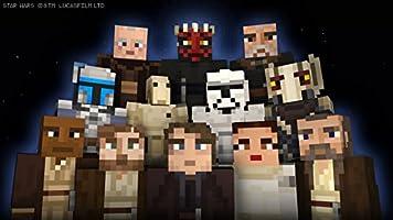 Minecraft - DLC,  Star Wars Prequel Skin Pack - Wii U [Digital Code]