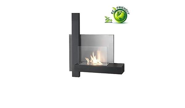 Painting Fire - Chimenea / Estufa de pared ecológico a bioetanol: Amazon.es: Bricolaje y herramientas