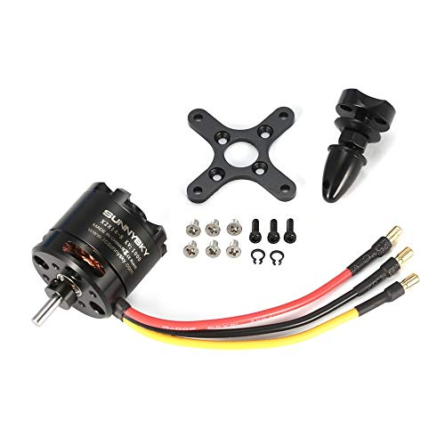 SUNNYSKY X2814 14P 1000KV RC Motor 3-4S Outrunner Brushless Motor for 1-1.5KG RC Airplane Warbirds - Warbird Airplane