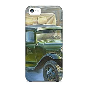 YsQPLpr1538ZfVmJ Snap On Case Cover Skin For Iphone 5c(military Car)