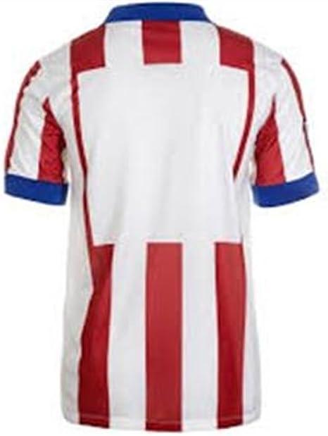 Nike 2017//18 Atl/ético de Madrid Stadium Home Camiseta de Manga Corta Hombre