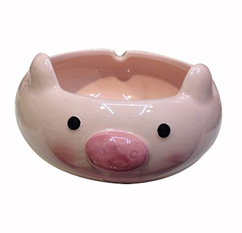 Lovely Pig Modeling Ceramics Ashtra