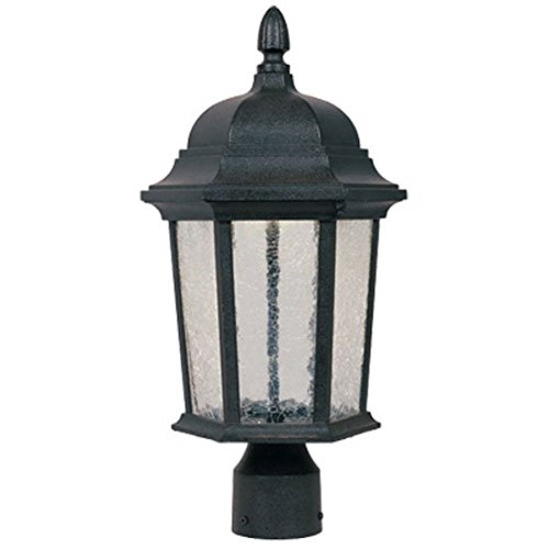 Designers Fountain LED2776-DWD Abbington-LED Post Lanterns, Driftwood by Designers Fountain