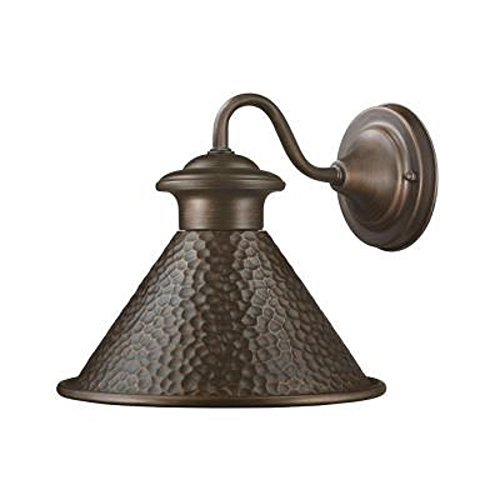 Home Decorators Collection Essen 9 In. Wall-mount Outdoor Antique Copper Lantern Antique Copper Outdoor Wall Mount