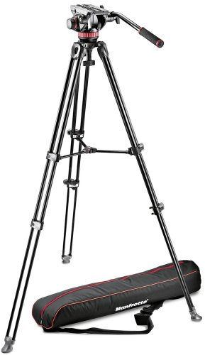 Manfrotto MVK502AM-1 Professional Fluid Video System Aluminu