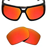 Mryok Polarized Replacement Lenses for Spy Optic Touring - Fire Red