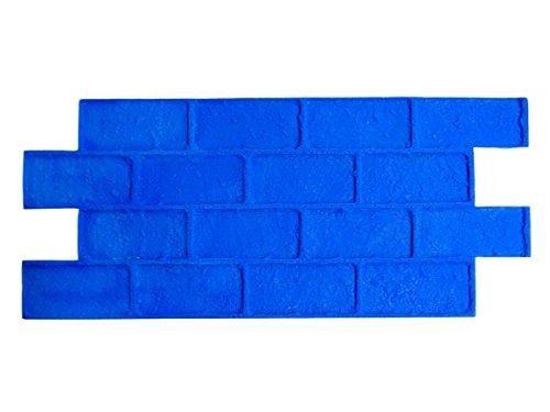 Worn Brick Running Bond Decorative Concrete Stamp Set 5 piece