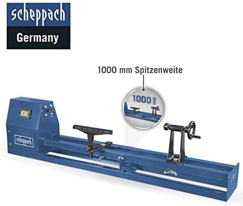 SCHEPPACH DM 460 T Drechselmaschine bis 457mm Drechselbank 550 Watt M33 Spindel