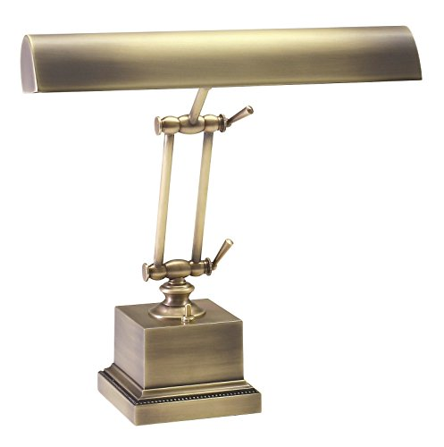 House of Troy P14-202-AB 13-Inch Portable Desk/Piano Lamp Antique Brass Antique Brass Portable Table Lamp