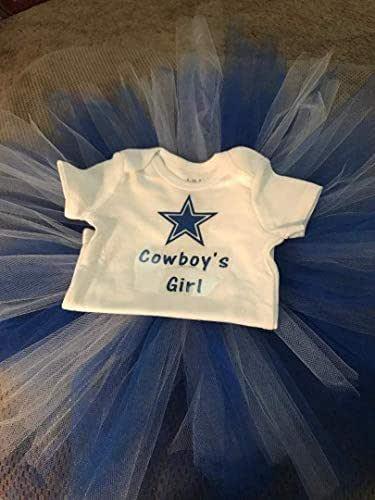 Cowboy's Girl T-Shirt and Tutu/Girls Tutu/Dallas Tutu/Dallas Girl