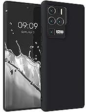 kwmobile telefoonhoesje compatibel met ZTE Axon 30 Ultra - Hoesje voor smartphone - Back cover in zwart