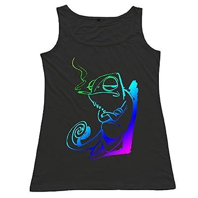 Chameleon Women T-shirt Vest Tank Top