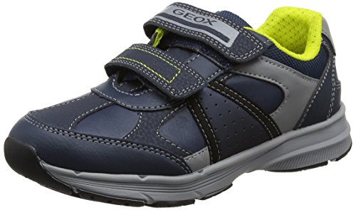 Geox Boys' Topfly 1 Sneaker, Navy, 24 M EU Toddler (8 US)