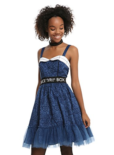 Tardis Halloween Costume (BBC Doctor Who Tardis Dress Size:)