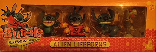Stitch's Great Escape Galactic Experimentation Alien Lifefor