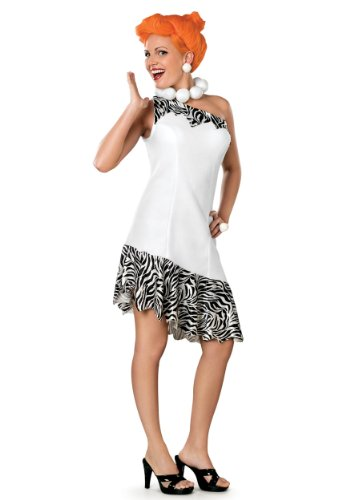 [The Flintstones Wilma Costume,White, Medium] (Halloween Costumes Flintstones)
