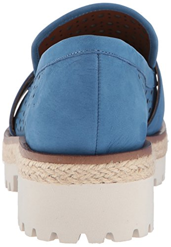 Nine West Vrouwen Gradskool Nubuck Oxford Flat Blue Nubuck