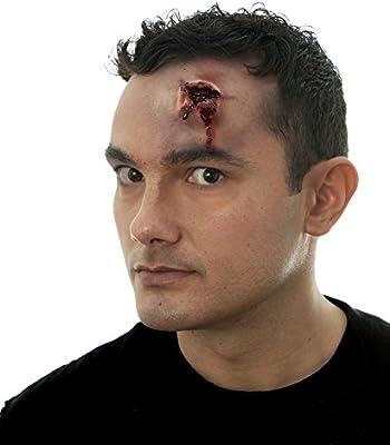 5 Bullet Wounds Hole Gun Shot Dress Up Halloween Costume Makeup Latex Prosthetic