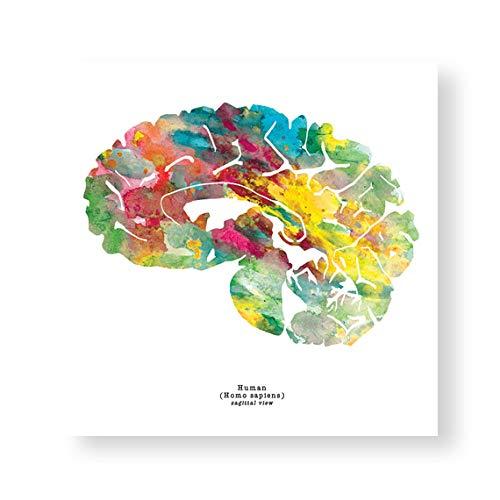 J. Sayuri Sagittal Human Brain Art - 12