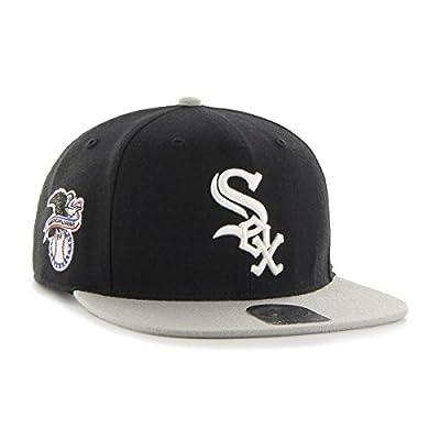 '47 Chicago White Sox Two-Toned Sure Shot Men's Snapback Hat B-SRSTT06WBP-BK