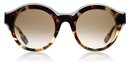 McQ 0003S 002 Tortoiseshell 0003S Round Sunglasses Lens Category 3 Size 49mm (Mcq Uk)