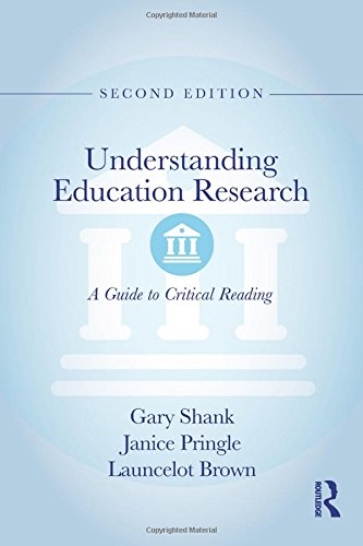 Price comparison product image Understanding Education Research: A Guide to Critical Reading