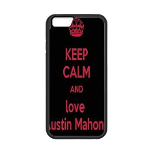 Andre-case Austin Mahone Quotes Keep Calm and Love Austin Mahone IPhone 6 4.7 case cover, Luxury 37AEKfdVVYN Brand case cover Inches case cover for Iphone 6 4.7 {Black}Kimberly Kurzendoerfer