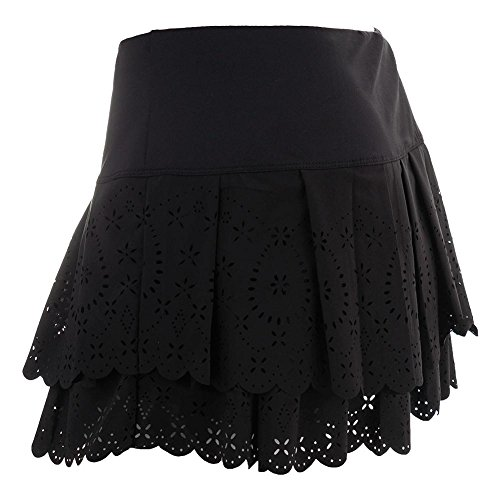 Lucky in Love Laser Pleat Tier Skirt-Medium-White by Lucky In Love (Image #3)