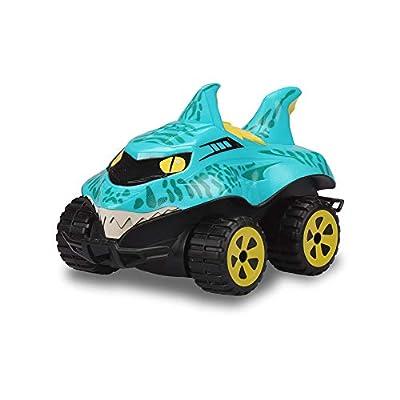 Kid Galaxy Morphibians 2.4GHZ Shark R/C - Runs on Land & Water: Toys & Games