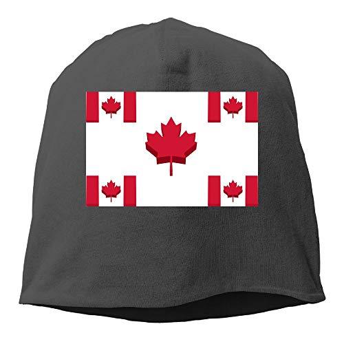 DAHUACHUANGZHAN Canada Flag Beanie Hat Stars Fashion Unisex Skull Cap (Playsets Canada)