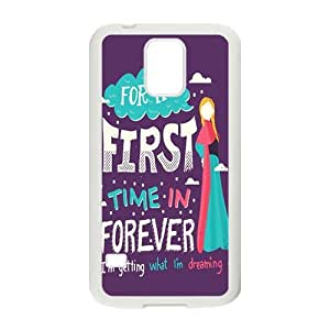DAZHAHUI first time in forever Phone Case for Samsung Galaxy S5 wangjiang maoyi