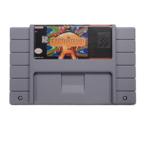 Earthbound Game Cartridge for RPG SFC SNES US Version English Language Save File