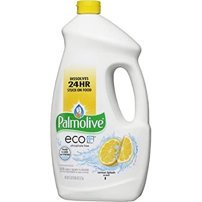 Palmolive eco Fresh Lemon scent Gel Dish Washer Detergent, 75 Fl oz (Pack of 2)