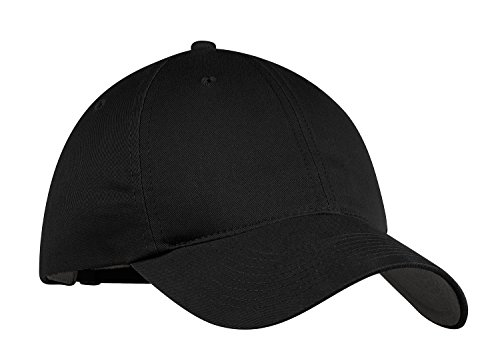 Nike Classic Soft Crown Mid-Profile Adjustable Baseball Cap Dad Hat - Black