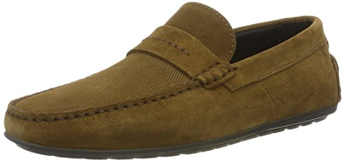 mocc 01 Hugo Mittelbraun Men's Brown sdpr 10197277 Mocassins Dandy ZxE14CEwq