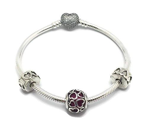 Pandora Open Hearts Bracelet Gift Set - B800381-19