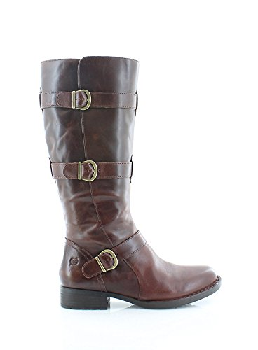 Fashion Calf Womens Boots Tan Mid Round B C Toe O Leather Falmouth AcF4zw