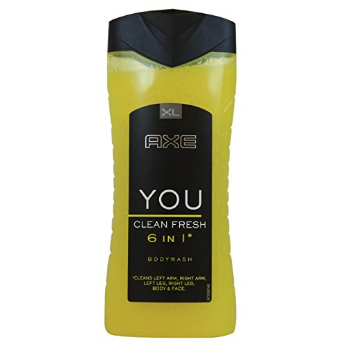 Axe You Clean Fresh 6-in-1 Shower Gel for Men, 400 ml 2526075
