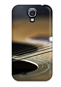 Sanp On Case Cover Protector For Galaxy S4 (guitar And Strings)