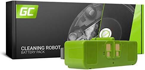 GC® (4.4Ah 14.4V Li-Ion Pile) Batería para iRobot Roomba 696 de ...