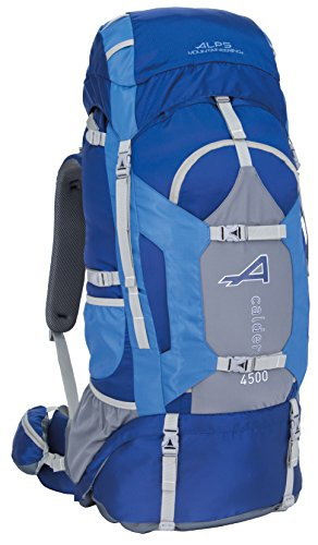 ALPS Mountaineering Caldera 4500 Internal Frame Pack, Blue