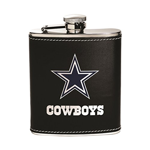 (Boelter Brands NFL Stainless Steel Flask)