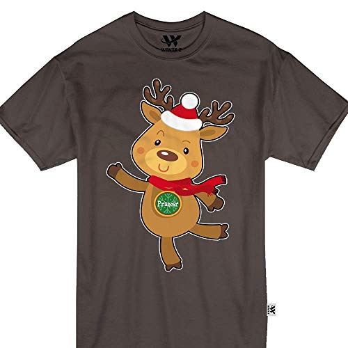 Prancer Reindeer Cute Santa Sleigh Youth Kids ()