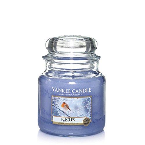 Yankee Candle Holiday ICICLES 14.5 oz Medium Jar Candle
