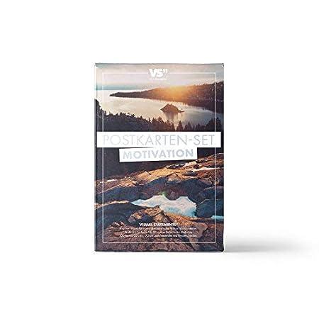 Liebesbotschaften Postkarten in XXL VISUAL STATEMENTS Postkartenset; mit 20 Postkarten eine sch/öne Geschenkidee Karten mit verschiedenen Spr/üchen; sch/öne Spruchkarten im Set; h/übsche Motivkarten Liebe
