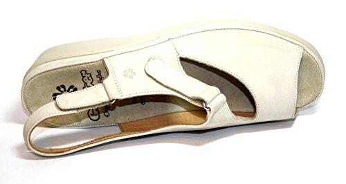 Ganter, Sandali donna Bianco Crema 40.5