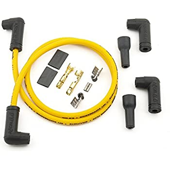 ACCEL 170083 8.8mm Yellow Universal Spark Plug Wire Set
